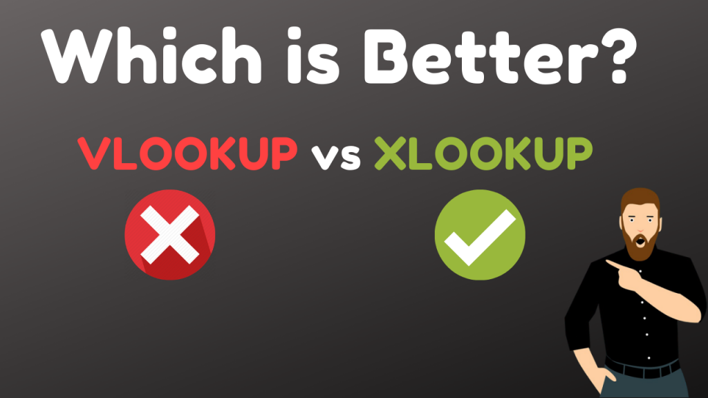 Which is Better XLOOKUP vs VLOOKUP? How To Use XLOOKUP in Excel (RIP VLOOKUP)